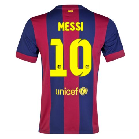 Barcelona Local 14/15 MESSI