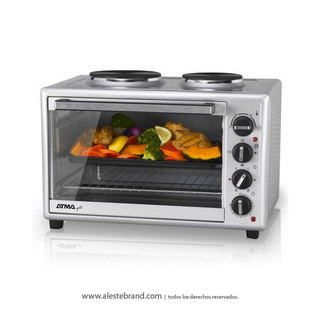 Horno Grill Electrico Atma Hg5010ae 50lts