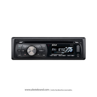Autoestereo B52 Bluetooth DVD / CD / MP3 / USB / SD  DV-8512