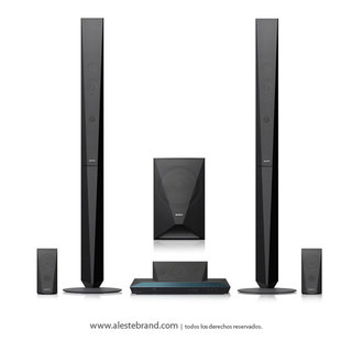 Home Theatre con Blu-Ray Sony BDV-E4100