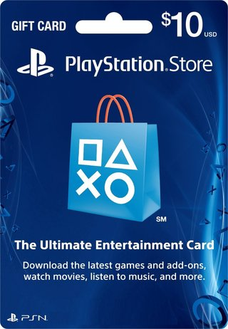 PSN CARD 10USD