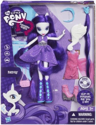 My Little Pony Equestria Girls Deluxe Rarity Doll